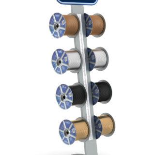 stand reklamowy stojak na kable