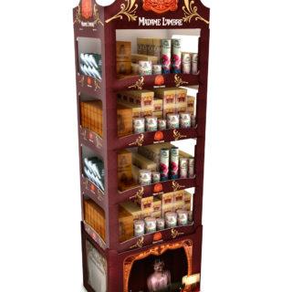 kosmetyki sklep ekspozycja