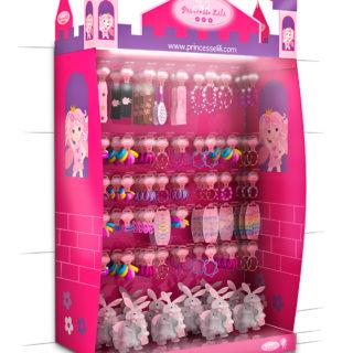 ekspozycja sklepowa dziewczynka zabawki