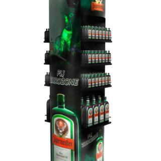 stojak ekspozycja napoje alkoholowe