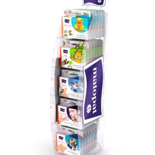 stojak na plastry naladowy stand reklamowy