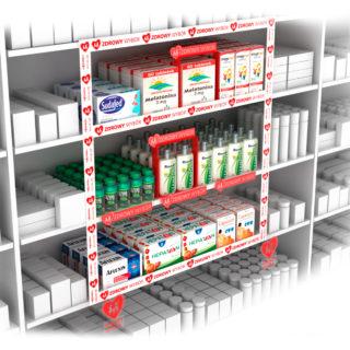 shelfliner, cenówka, shelfstoper, POS