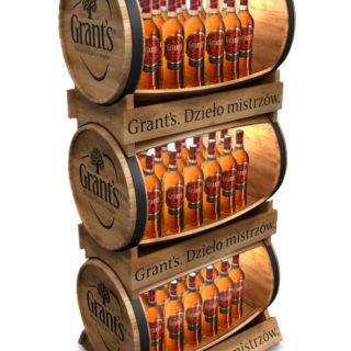 stojak reklamowy na alkohol