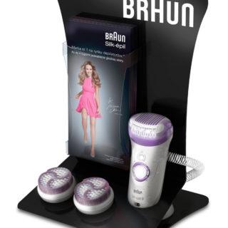 stojak reklamowy Braun