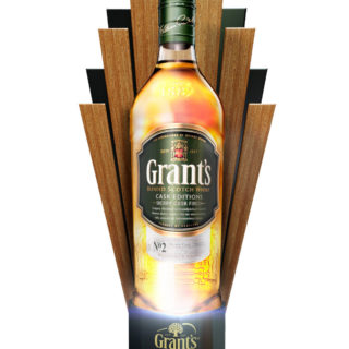 stojak stand naladowy napoje alkoholowe