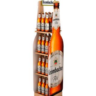 stojak stand reklamowy na piwo