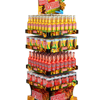 stojak stand reklamowy na piwo desperados