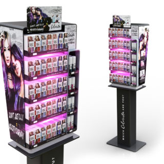 stand reklamowy L'oreal kosmetyki