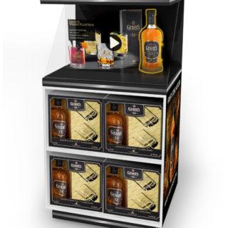 stand reklamowy napoje alkoholowe