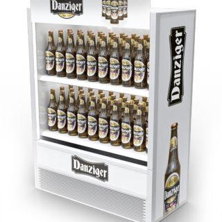 stand reklamowy na piwo