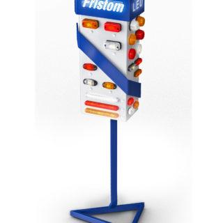 stojak na żarówki stand reklamowy