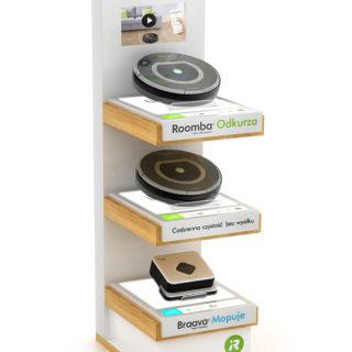 ekspozytor stand reklamowy roomba