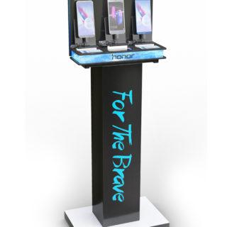 stand reklamowy smartfon