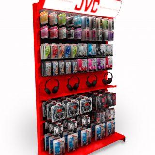 ekspozycja sklepowa JVC