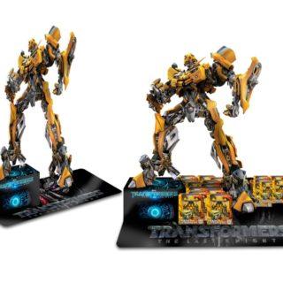 Transformers zabawki stojak naladowy