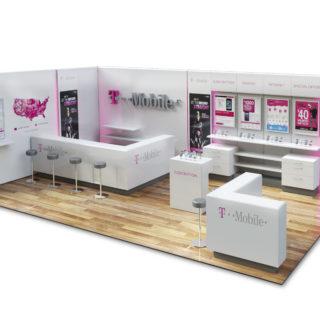 shop in shop wyspa salon z telefonami