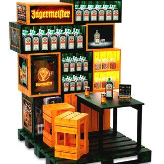 shop in shop ekspozycja alkohol sklep