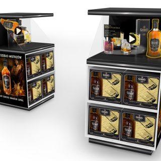 ekspozycja sklepowa napoje alkoholowe