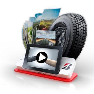 Bridgestone reklama stojak