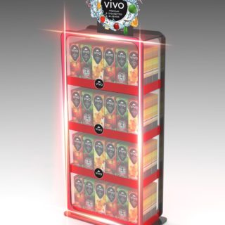 ViVo soki i napoje stojak naladowy