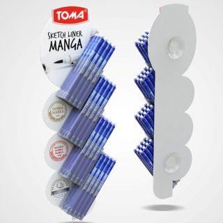 krawat na długopisy strip reklamowy POS