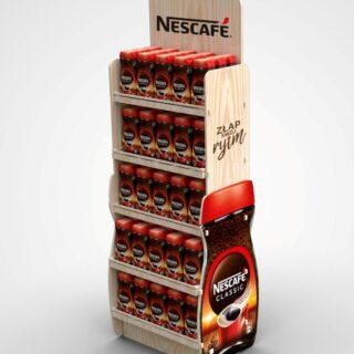floor display Nescafe