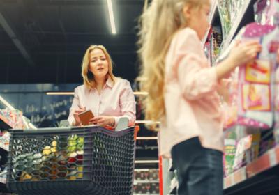 zakupy w sklepie konsument POS