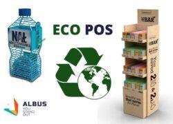 eco design POS display